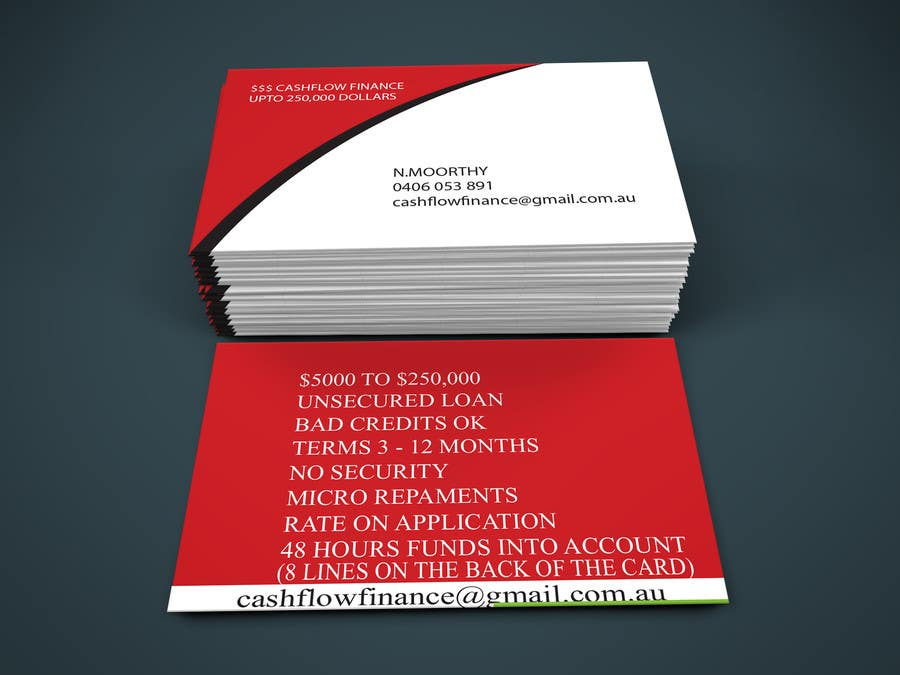 Entry #16 by Alomgir624 for business card IN DEEP RED AND WHITE ...