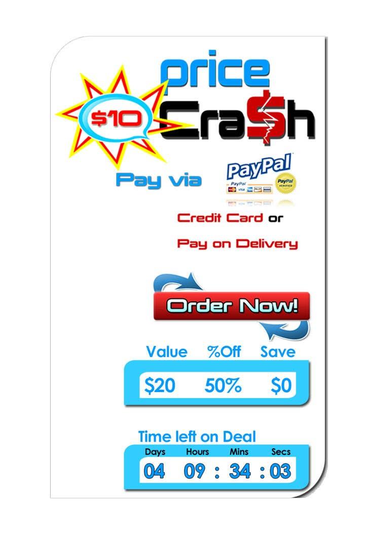 Konkurrenceindlæg #                                        6                                      for                                         Logo Design for Price Crash
