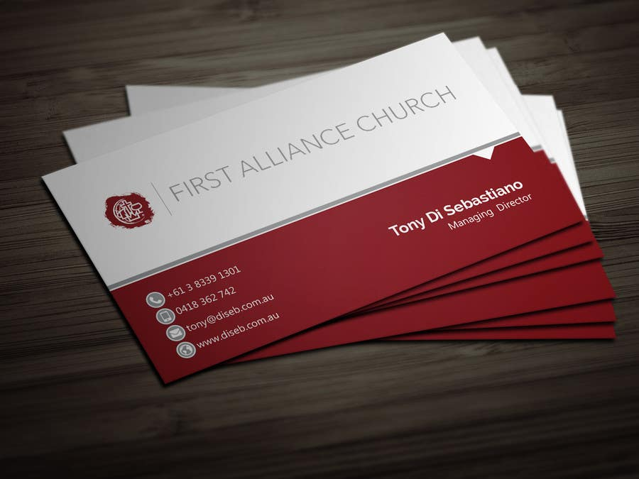 Entry 164 By Bikashbapon For Church Business Cards Freelancer
