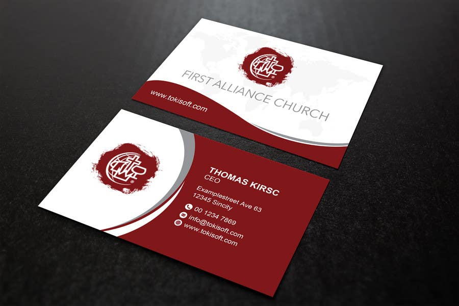Entry 178 By Najmulraj For Church Business Cards Freelancer