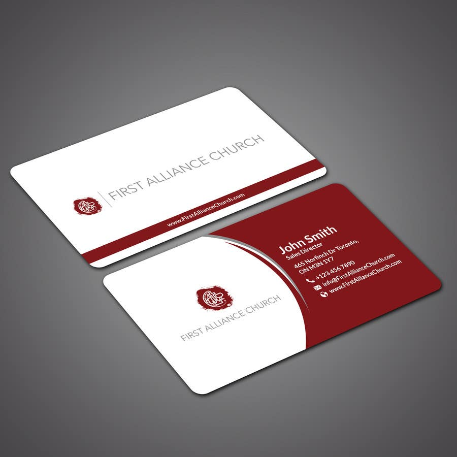 Papri802030 For Church Business Cards