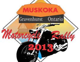 #61 pentru Logo Design for Muskoka Motorcycle Rally de către batholomio