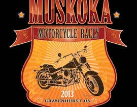 #63 for Logo Design for Muskoka Motorcycle Rally by aslikarabudak