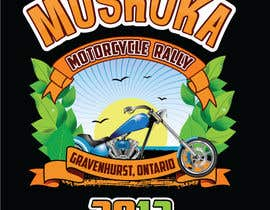#44 pentru Logo Design for Muskoka Motorcycle Rally de către OliveDesigns