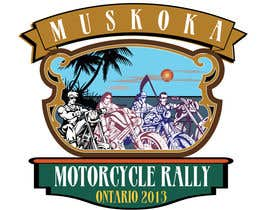 wehavesolution tarafından Logo Design for Muskoka Motorcycle Rally için no 50