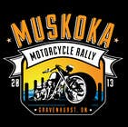 #42 for Logo Design for Muskoka Motorcycle Rally by KVdesigns