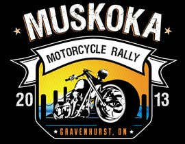 #46 para Logo Design for Muskoka Motorcycle Rally por KVdesigns