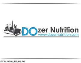 #19 untuk Design a Logo for A Sports Nutrition Company and its produ oleh tolomeiucarles