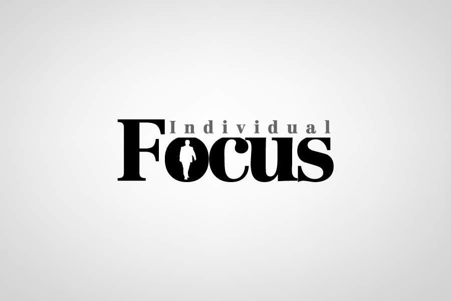Penyertaan Peraduan #                                        501                                      untuk                                         Logo Design for Individual Focus