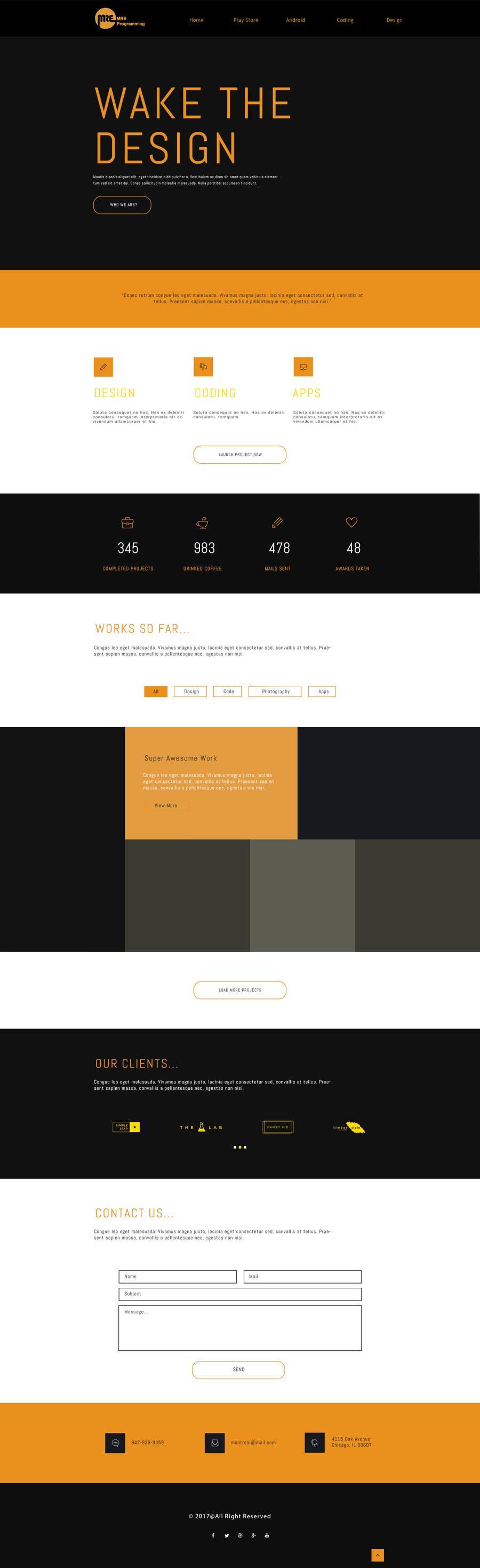 Contest Entry #                                        9                                      for                                         Design a Website Mockup (Design ideas not HTML)