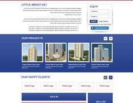 Nro 4 kilpailuun design homepage and layout for a site käyttäjältä gravitygraphics7