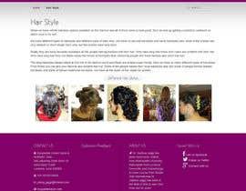 abhayendra tarafından Create website Layout for my Beauty Center için no 13