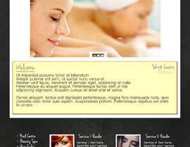 ShortyIsHere tarafından Create website Layout for my Beauty Center için no 1