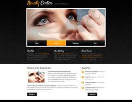 UFours tarafından Create website Layout for my Beauty Center için no 5