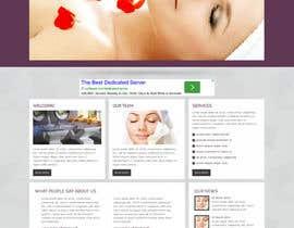 UFours tarafından Create website Layout for my Beauty Center için no 6