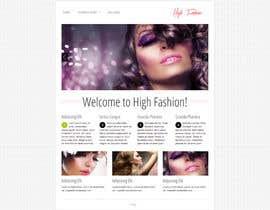 UFours tarafından Create website Layout for my Beauty Center için no 7