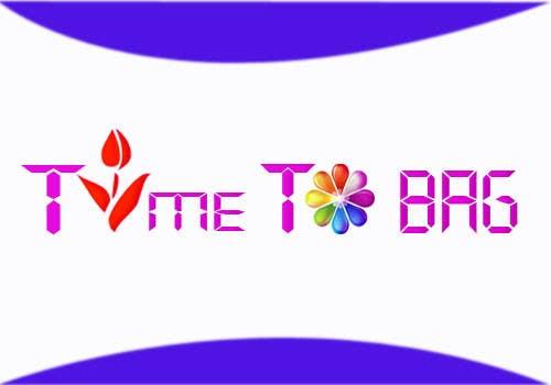 Kilpailutyö #169 kilpailussa Logo Design for TIME TO BAG