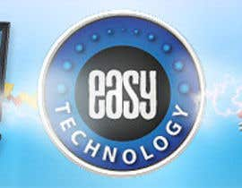 nº 32 pour Banner Ad Design for Easy Technology par MishAMan
