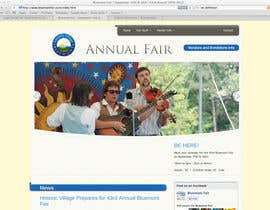 Nro 66 kilpailuun Logo Design for Small town in Virginia seeks logo / small banner for annual Town Fair website käyttäjältä AnaCZ