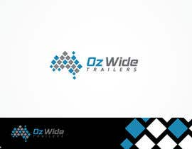#55 cho Logo Design for Oz Wide Trailers bởi MaxDesigner