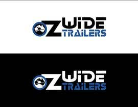 #42 cho Logo Design for Oz Wide Trailers bởi kalashaili