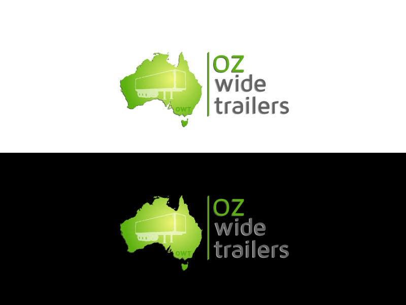 Inscrição nº                                         8                                      do Concurso para                                         Logo Design for Oz Wide Trailers
