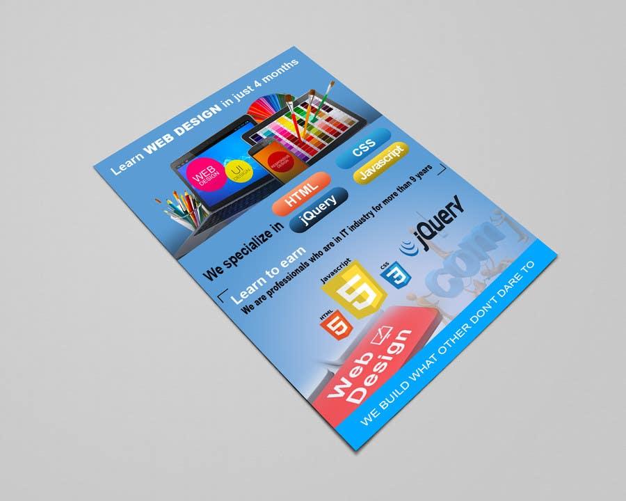 Entry #7 by rmolla9909 for Design Leaflet For Web Design