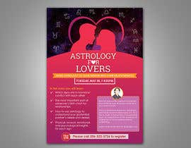 #14 for Astrology for Lovers Lecture Flyer by m99