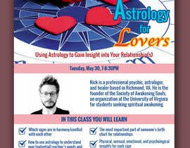 #12 for Astrology for Lovers Lecture Flyer by dba56d061c57e3d5