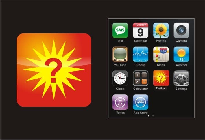 Proposition n°12 du concours IOS App Icon Design for whichfestival.com