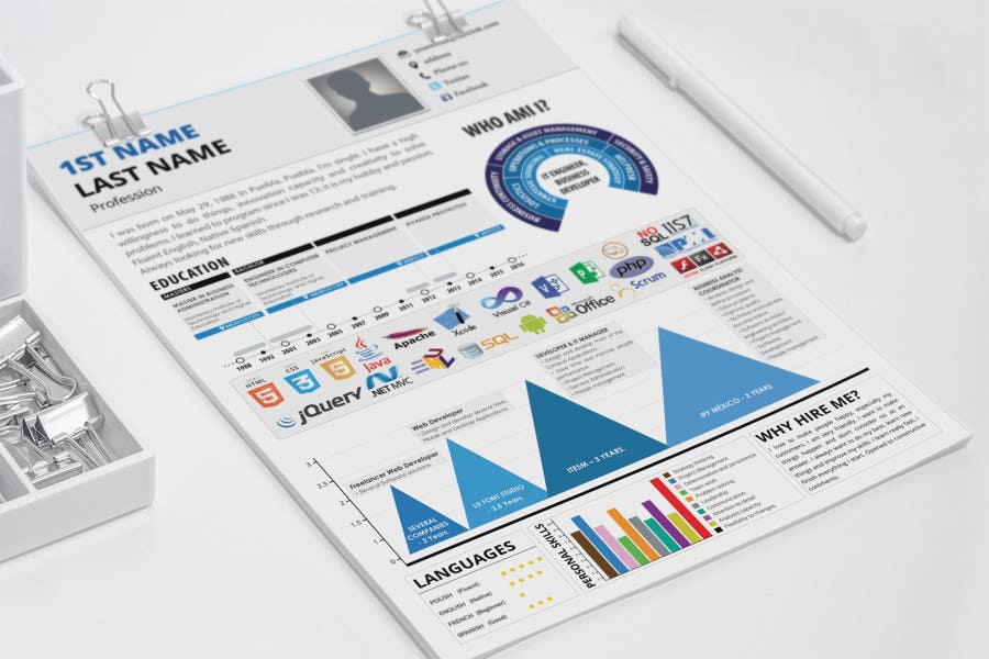 Entry 7 By Resumedesigner For Make My Resume Stand Out Freelancer