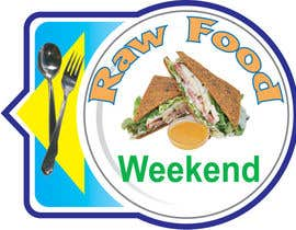#7 for Design a Logo for Raw Food Weekend af shifathussain