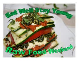 #2 for Design a Logo for Raw Food Weekend af moniquegordon