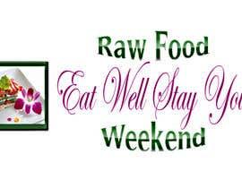 #5 for Design a Logo for Raw Food Weekend af realart2014