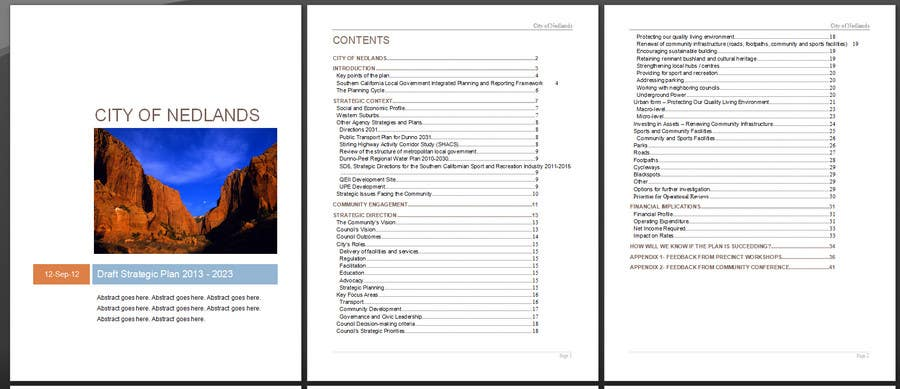 #35 for Word Document Template by sajalahsan