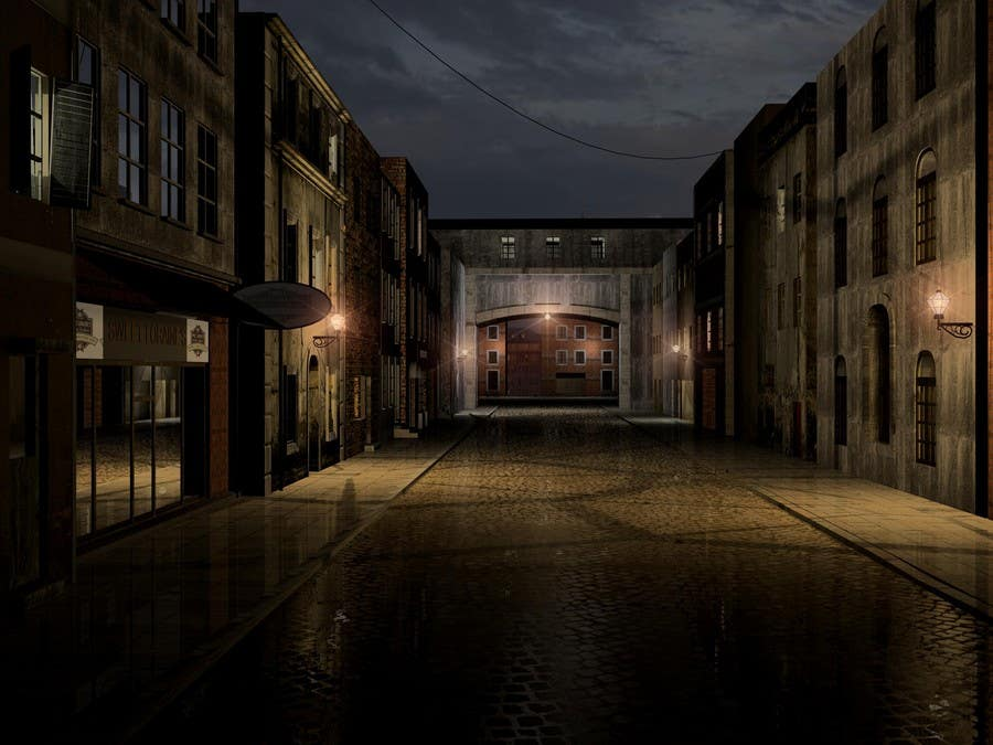 Entry #4 by issevin for Create 3d model of street (with