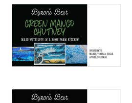 #10 para Jar Label Design - Byron's Best de stuartcorlett