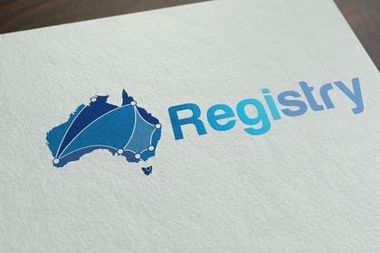 #299 para Registry - design our logo!! de Nazlina21