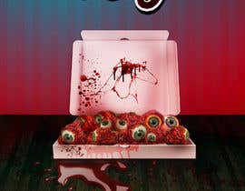 #19 para Large 3' x 4' poster for a zombie restaurant - a little box of eyeballs de chandraprasadgra