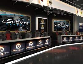 #15 for eSports Stage Studio Design av rendus