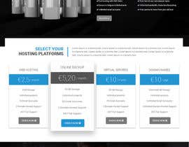 #10 for Design an IT/hosting company homepage in Visual Composer (WordPress) by shahzadawan1999