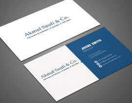 #51 for Business Card Design Template av NatashafreelancR
