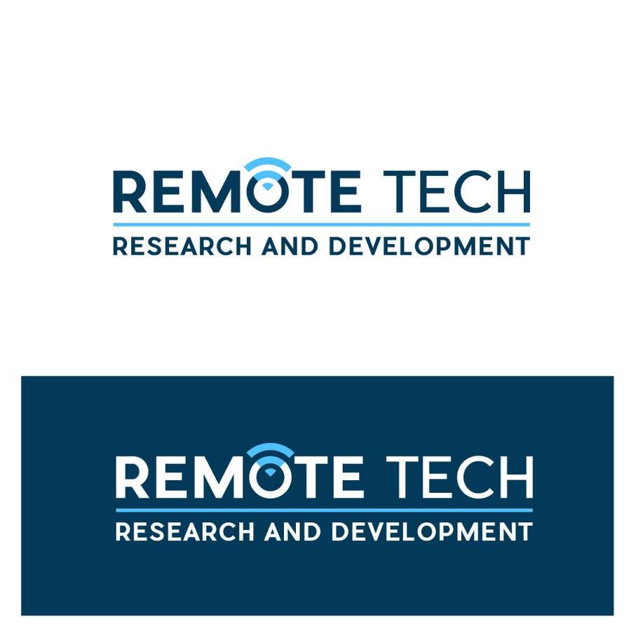 Inscrição nº 115 do Concurso para LOGO REMOTE TECH - Research and Development