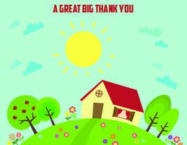 #10 for Design a the front page of a  Thank You Card and a New Home Card by imtiazmaruf34