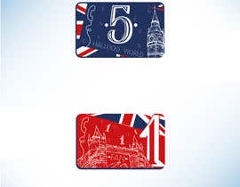 #4 for 5 Telephone Calling cards Design required by eliartdesigns