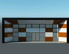 #7 for Front facade cladding by wafaakotb