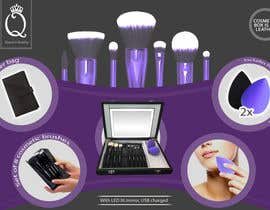 #13 for Print and Packaging Designs for Cosmetic box with brushes by merybaez