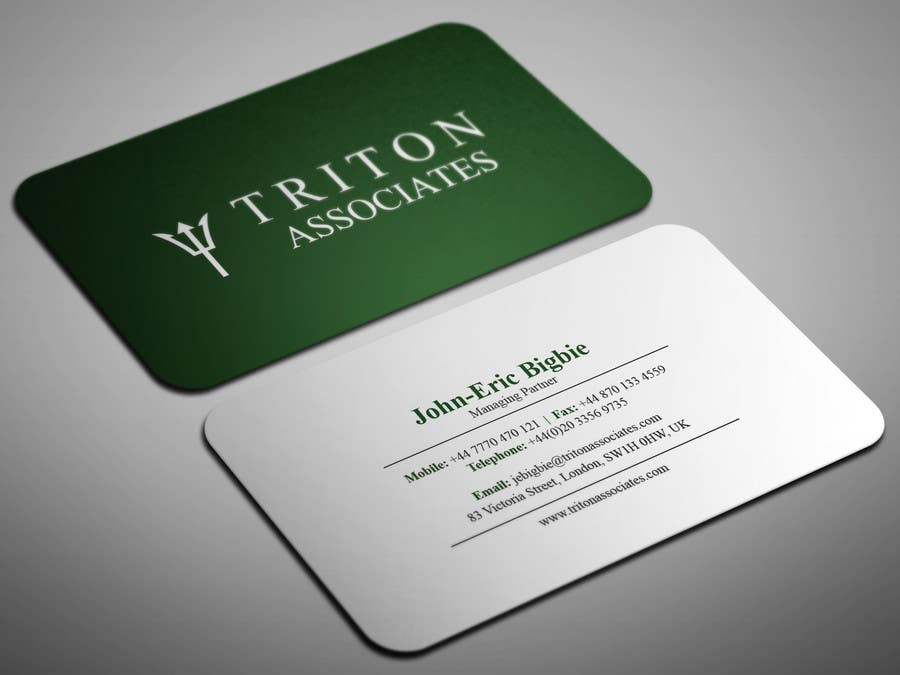 Entry 9 by smartghart for typeset business cards freelancer business card reheart Images