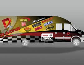 #107 for Design Transport Van with logos by pherval