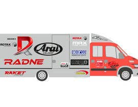 #105 for Design Transport Van with logos by graphiceager